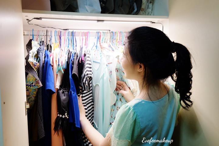 DIY ทำไฟส่องสว่างในตู้เสื้อผ้า,เครื่องสำอางง่ายๆ ผู้หญิงอย่างเราก็ทำได้ไม่ง้อผู้ชาย